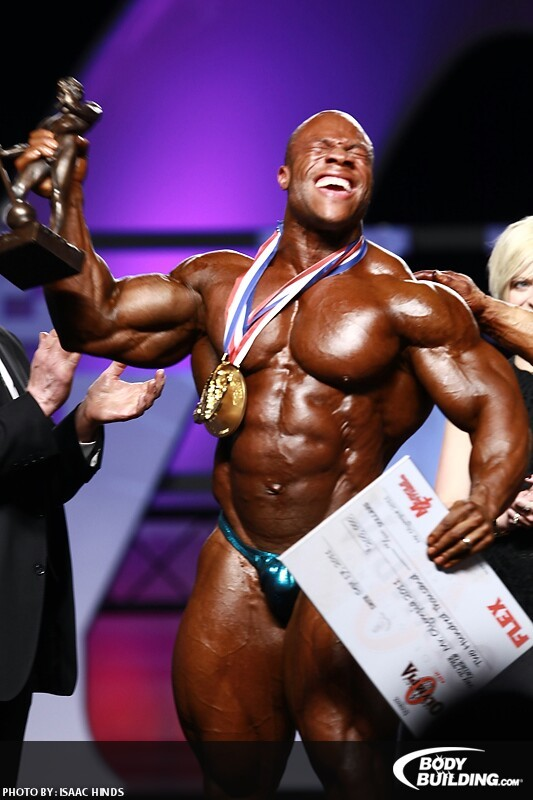 Ganador de Mr. Olumpia Phil Heath